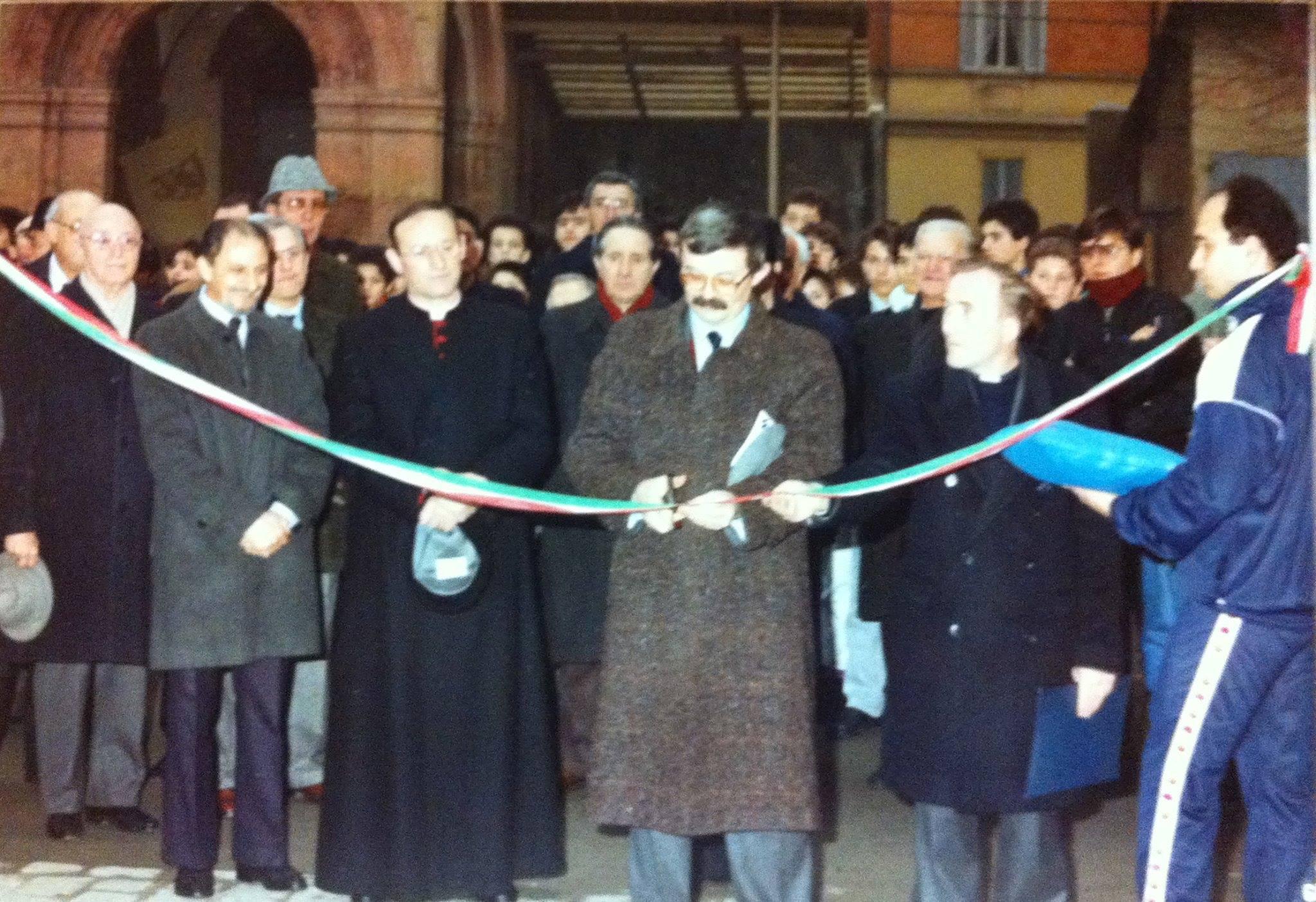 inaugurazione polisportiva bologna PGS